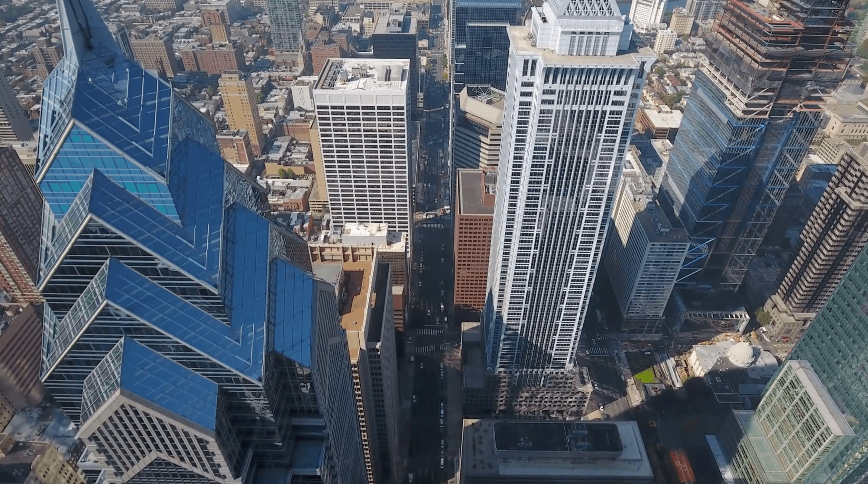 Philadelphia Skyline Video Still